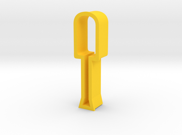 Screwdriver shaped cookie cutter 3d printed