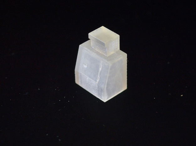 HO-Scale Slant Single Door Ice Cooler 3d printed Production Photo