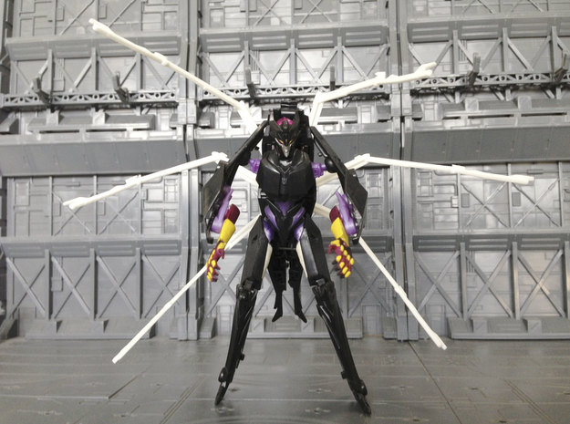 Queen set 2 for Prime Airachnid 3d printed