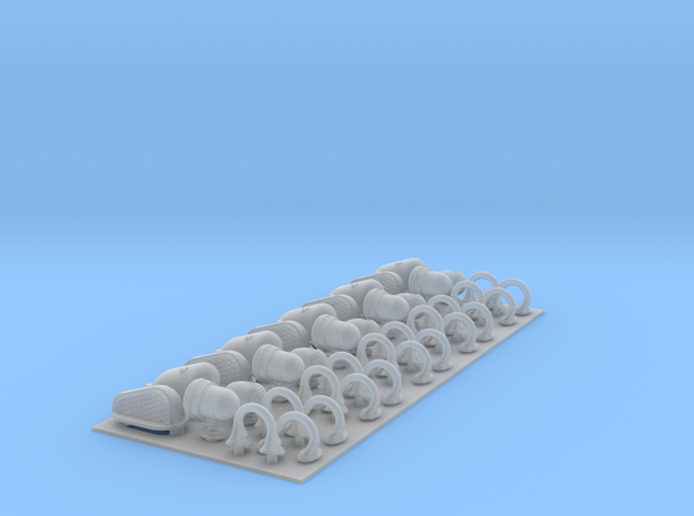 Hull Detail Set 1 3d printed