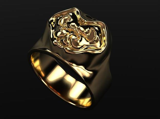 eisberger - the ring 3d printed