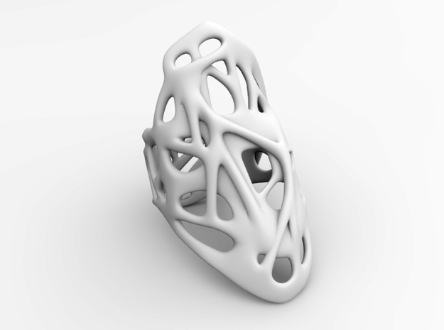 The Weave Ring 3d printed Simple (Material-less) View