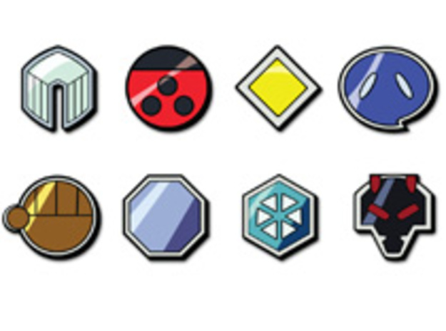 Pokemon Johto League Badges 3d printed