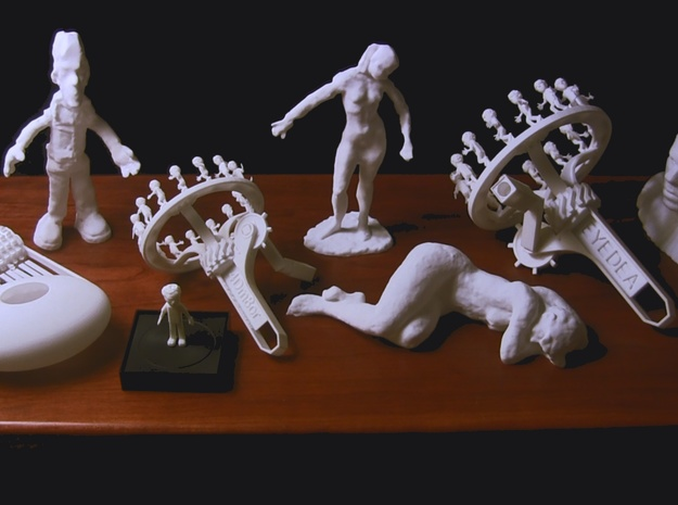 Little Tim (from 1977 film) 3d printed EYEDEA family