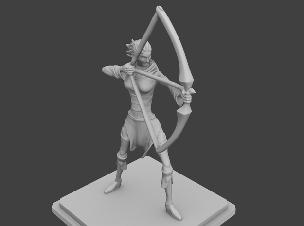 Rogue Archer figurine 3d printed