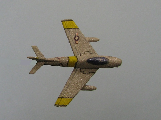 1/285 (6mm) F-86 Sabre 3d printed