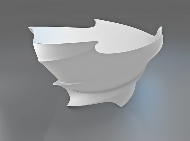 Twisted Bowl 3d printed Twisted Bowl
