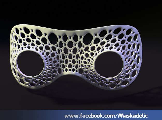 Party Mask Tunnel Vision: Ooooooh 3d printed Tunnel Vision: Ooooooh