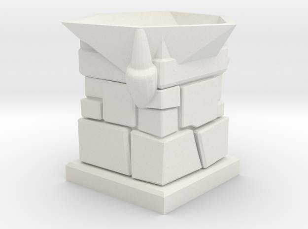 D20 Die Holder (Stone Tower With 3 Claws)