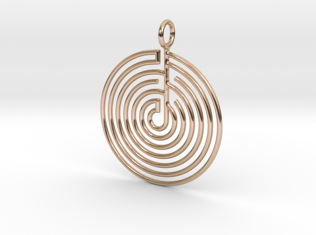mystery little labyrinth Pendant