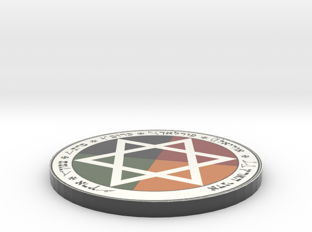 Golden Dawn Pentacle of Earth 3d printed