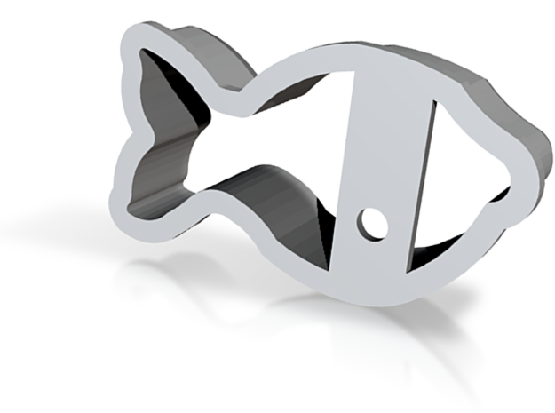 Fish Cookie Cutter 3d printed