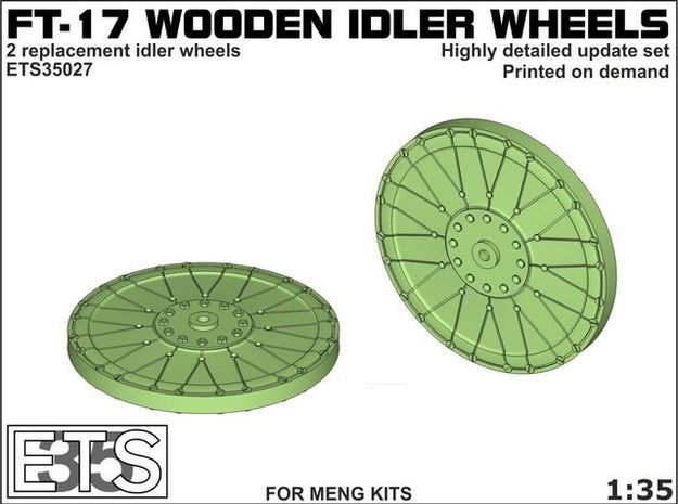 ETS35027 - FT-17 Idler (wooden) [1:35]