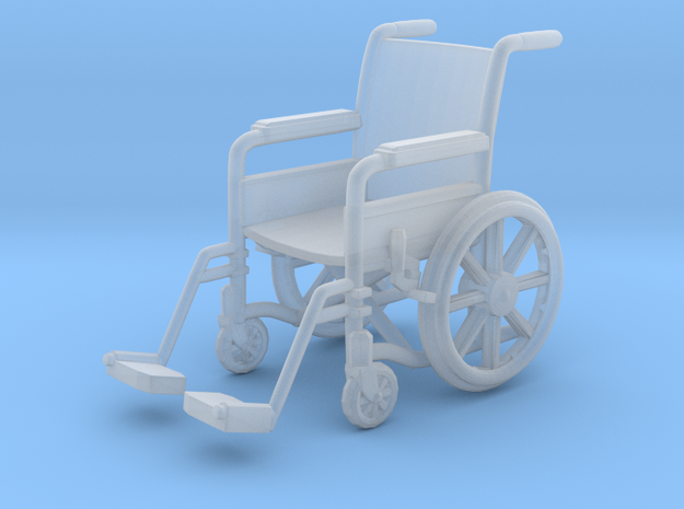 Wheelchair 01. HO Scale (1:87)