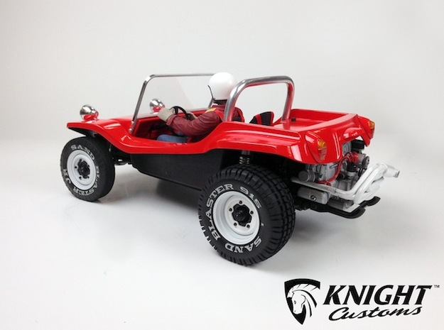SR40004 Beach Buggy Main Body 3d printed Shown assembled with Tamiya SRB chassis and other parts (sold separately)
