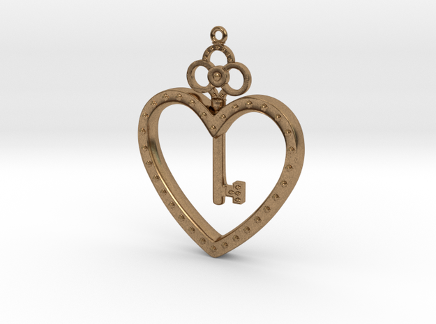 The Key To My Heart 3d printed