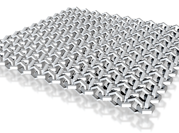 Chain Mail Fine 3d printed