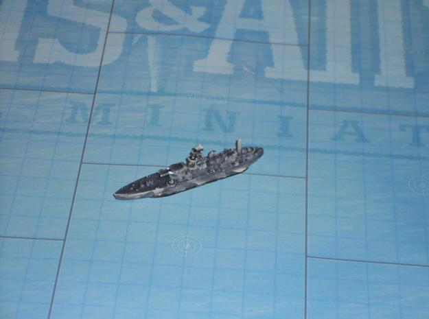 HMS Roberts 1/1800 3d printed Expertly Painted by afilter