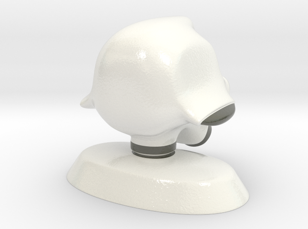 Robot head 3d printed