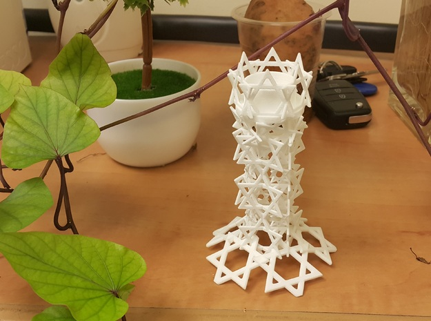 Candlestick 3d printed