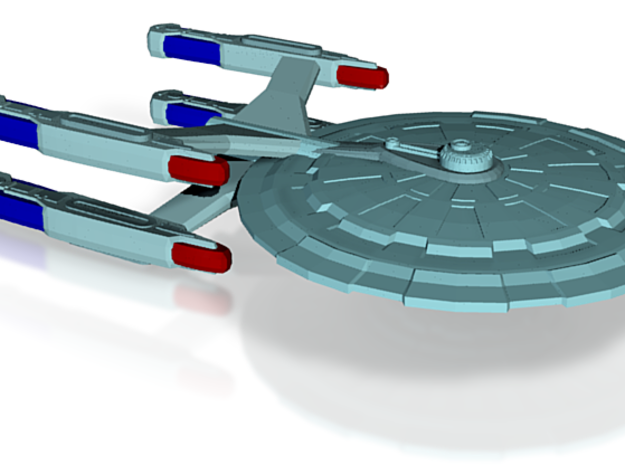 USS Forge 3d printed