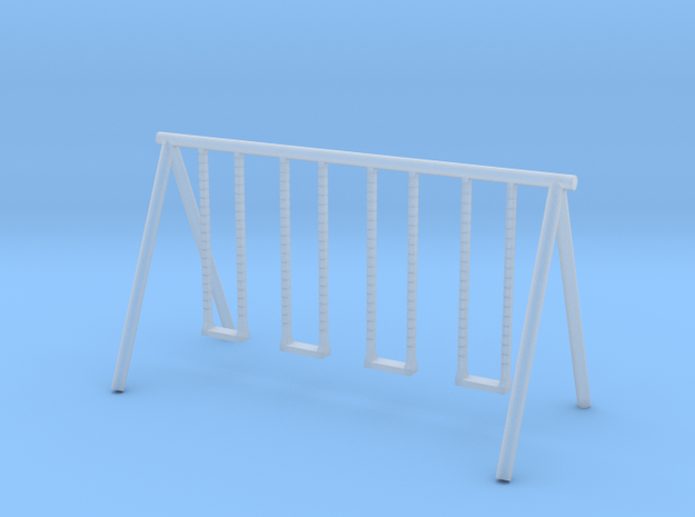 Playground Swing - N 160:1 Scale