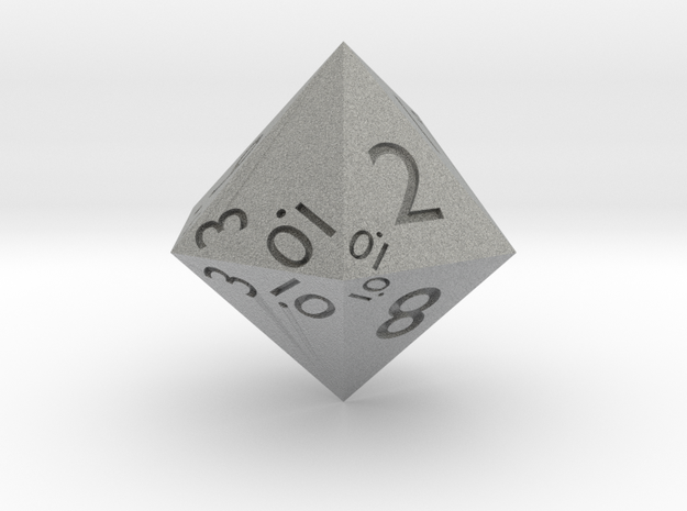 Sphericon-based d12 3d printed