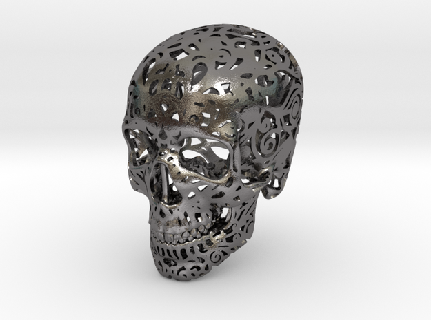 Mini Skull v2 - 25mm 3d printed