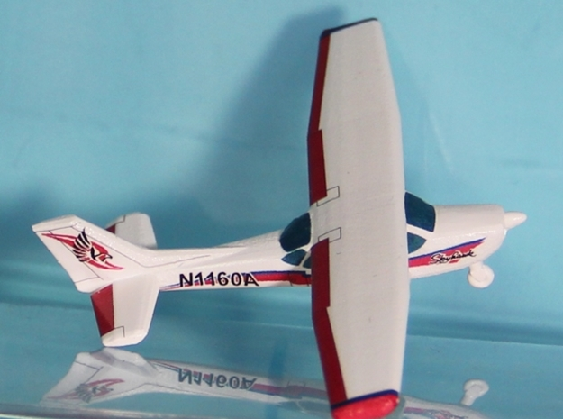 Cessna 172 - Nscale 3d printed Painting and Photo thanks to Karin Snyder