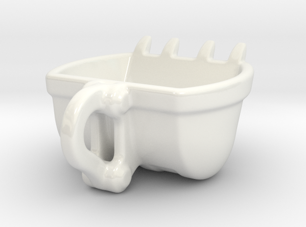 Bulldozer Mug - medium 120ml 3d printed 120 ml