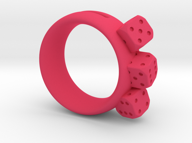 Ring Würfel/Dice 01, 19mm 3d printed