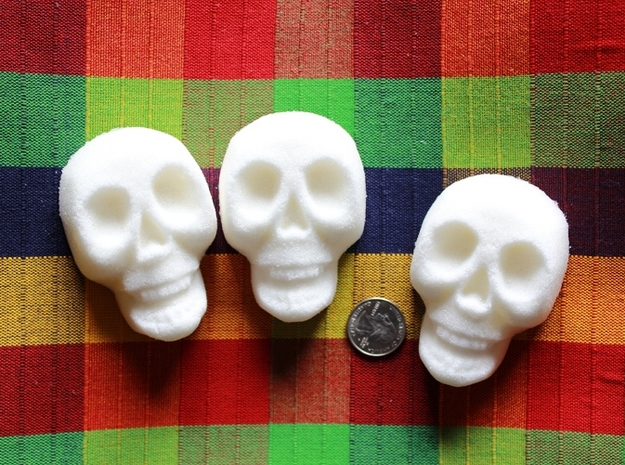 Sugar Skull Mold 3d printed