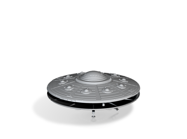 Scout Ship UFO, Flying Saucer Kit-November 3d printed Add a caption...