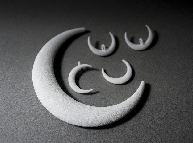 Luna Moon Set 3d printed