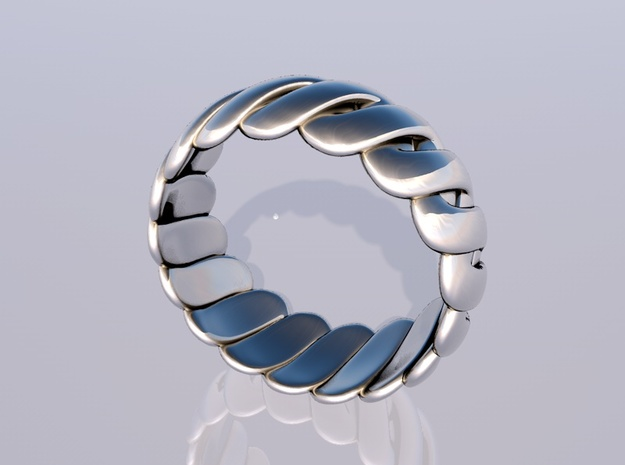 Torus Ring 3d printed render