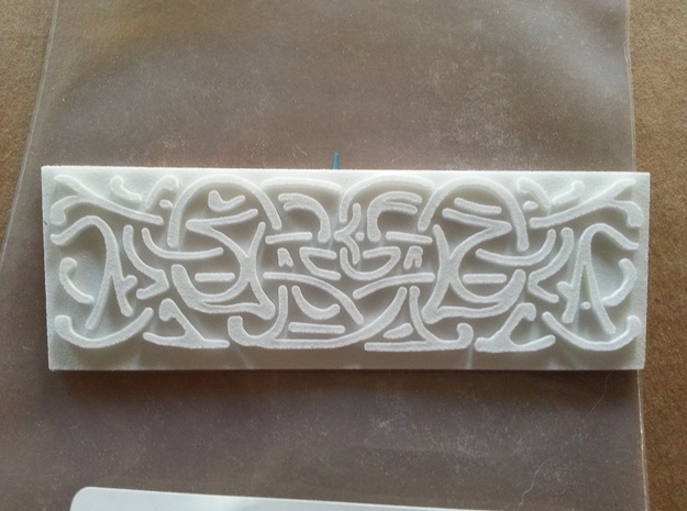 Thors Hammer Side Runes 3d printed Turned out beautiful.