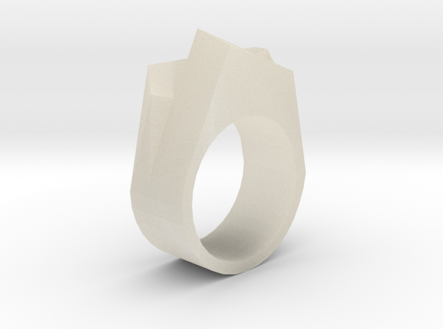 Opposing Cubes Ring size 8 3d printed