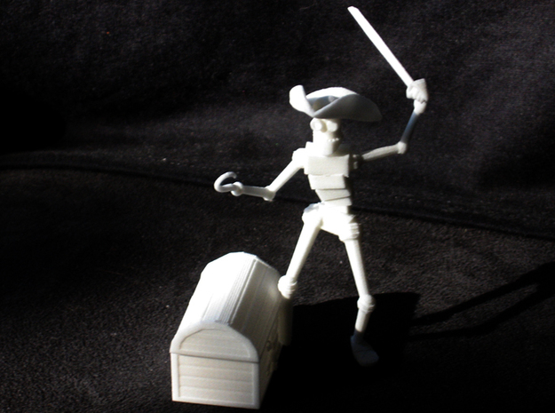 PirateRobot 3d printed WSF