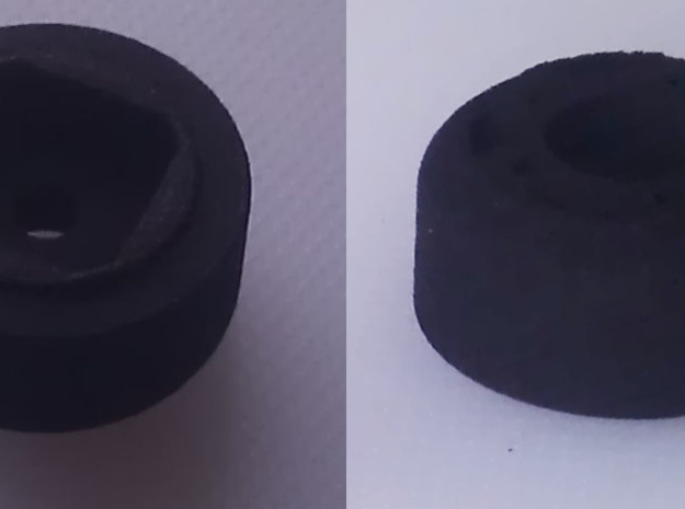 Adaptator for Integy steering wheel for Sanwa M12 3d printed photo