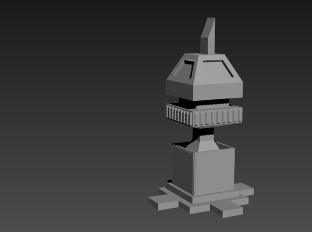 Imperium Command & Control Tower 3d printed