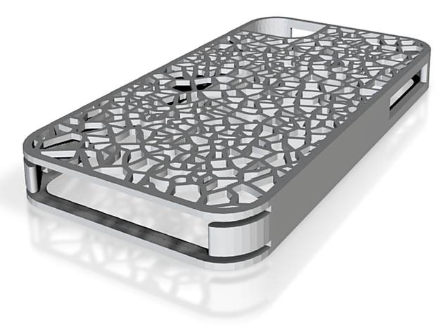 Organic texture iphone 4s cover 3d printed