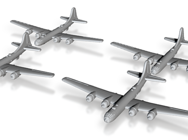 B-29-Superfortress-X4 Global War Scale 3d printed
