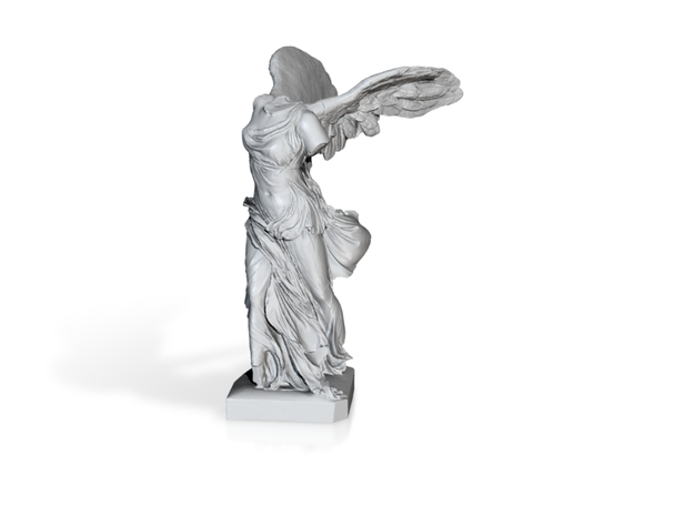 "Winged Victory (25"" tall) 3d printed"