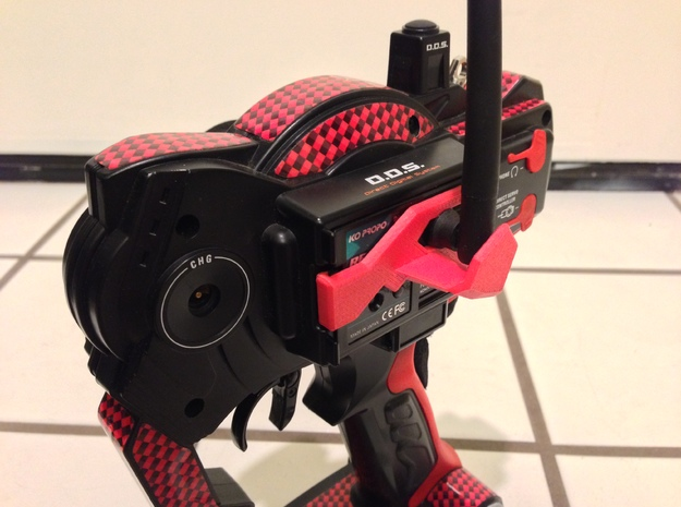 KO Propo RC Radio Antenna Shield - Ver4 3d printed