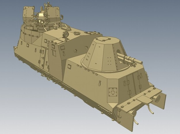 1-50 Sep-Parts A-Wagen For BP-42 3d printed