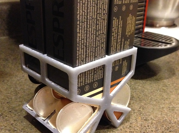 Nespresso Capsule Dispenser 3d printed