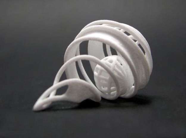 Spiral Cage 3d printed 3D printed SWF spiral cage