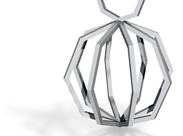 Motives Ngon - Necklace Collection 3d printed ngon necklace simple