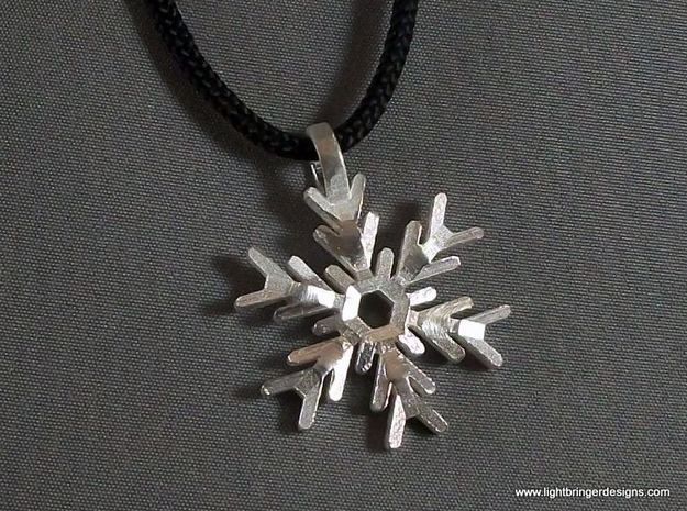 Snowflake Pendant (Double Sided)