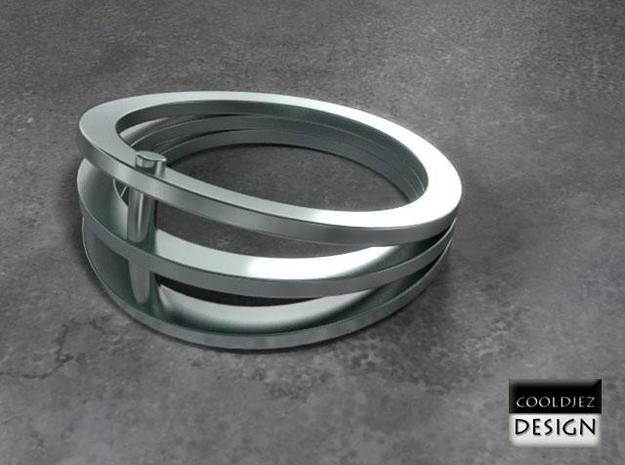 Ring - Vizor 3d printed Render